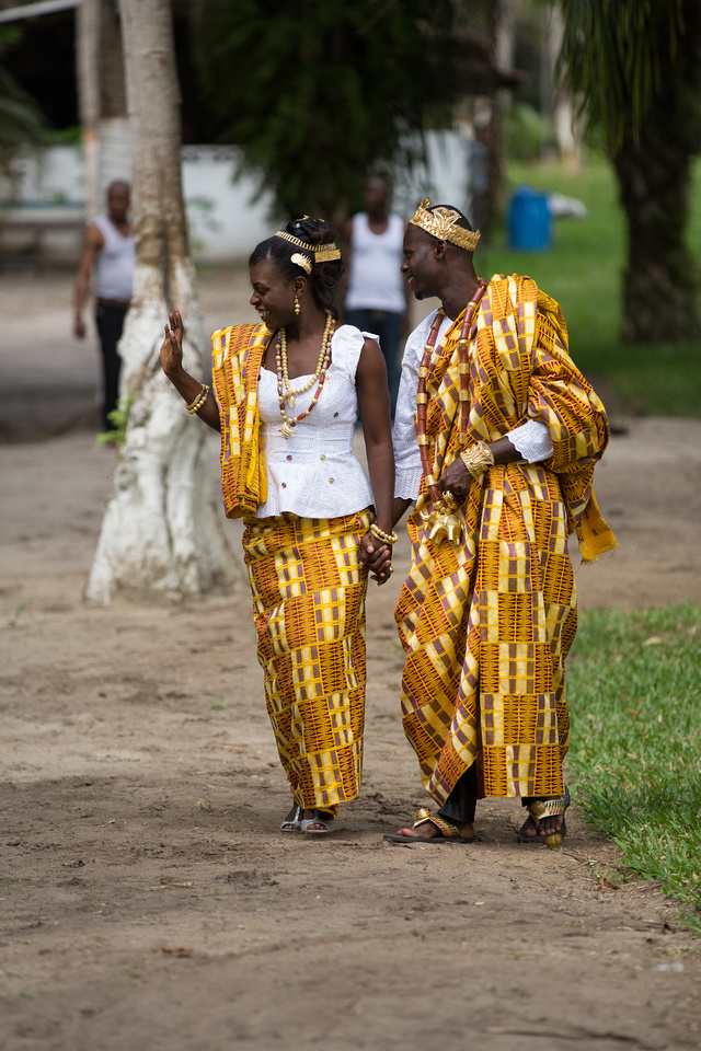Engagement shoot in the Ivory Coast